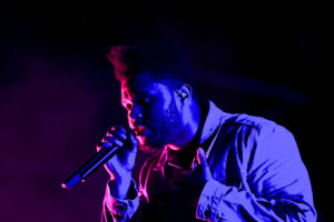 The Weeknd performs during the Firefly Music Festival in Dover, Delaware, U.S. June 17, 2017. Picture taken June 17, 2017. REUTERS/Mark Makela