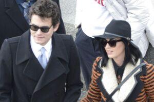 Her ses John Mayer og Katy Perry sammen i 2013.