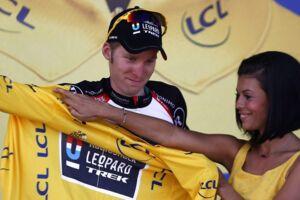 Belgiske Jan Bakelants stiftede i 2013 bekendtskab med Tour de France-podiepigerne, da han vandt tredje etape og tog den gule trøje.