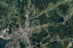 De fire personer blev fundet i en lejlighed uden for Göteborg.