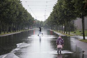 Sommerregn. Sødang den 23. juli.