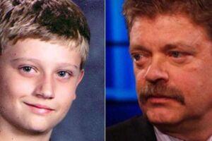 Dylan Redwine og hans far, Mark Redwine.