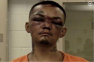 20-årige Angelo Drew Martinez, der fik bank, da han forsøgte at stjæle en bil, der tilhørte et par amerikansk fodbold-stjerner.