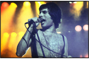 Queen og Freddie Mercury i Falkonerteatret 13.04.78