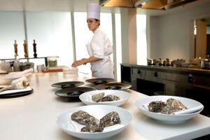 Flere danske restauranter har fået tildelt en michelin-stjerne. Fotoet her stammer fra restaurant Geranium.