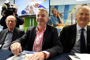 Michael O'Leary, adm. direktør i Ryanair, fik mange spørgsmål om piloternes nye krav på årets generalforsamling i Ryanair.