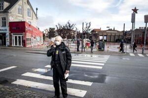 Politiet arbejder torsdag den 21. september flere steder på Nørrebro efter skyderi på Nørrebro natten til torsdag den 21. september 2017.