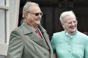 Dronning Margrethe måtte trække sig fra et arrangement pga. sygdom.