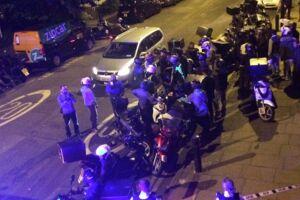 Billedet her er fra et tidligere syreangreb i London ved Queensbridge Road 13. juli.