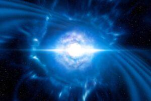For første gang har videnskabsfolk registreret et sammenstød mellem to neutronstjerner, der har sendt tyngdebølger og lys fra en anden galakse ud i universet.