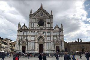 Den berømte kirke i Firenze.