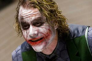 Heath Ledger som Jokeren. REUTERS/Warner Bros./Handout
