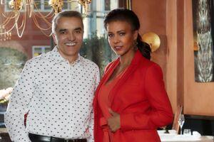Ægteparret Elvio Milleri og Edelvita Santos da Silva, der sammen ejer Era Ora, er jublende glade for den nye pris. Her ses de ved en tidligere lejlighed på deres restaurant.