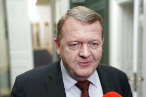 Statsminister Lars Løkke Rasmussen efter forhandlingerne med Dansk Folkeparti i Statsministeriet fredag d. 8. december 2017. (Foto:Martin Sylvest/Scanpix 2017)