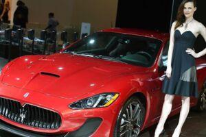 En Maserati GranTurismo bliver her fremvist i 2014 i New York