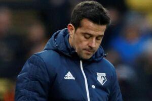 Marco Silva er fortid i Watford, efter klubben søndag meddelte, at han er blevet fyret. Reuters/David Klein