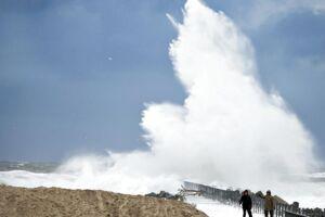 DMI varsler vindstød af stormstyrke i Vestjylland onsdag.