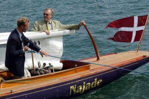 Billedet her stammer fra maj 2003 og er taget ud for Nordre Toldbod i København. Her blev Prins Henriks nye båd Najade navngivet.
