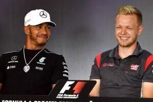 Lewis Hamilton vurderer, at Kevin Magnussen og Haas er med helt fremme, når årets første Formel 1-grandprix køres på søndag i Australien.