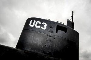 Peter Madsen's ubåd UC3 Nautilus.