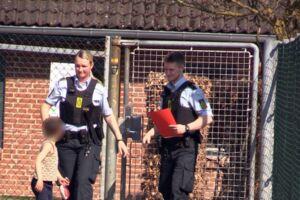 Klokken 13.03 blev politiet tilkaldt til Gilbjerg Børnehuse.