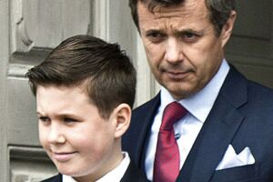 Kronprins Frederik og prins Christian.