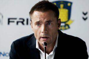 Jan Bech Andersen lægger ikke skjul på sin skuffelse over Brøndbys 2-2 kamp mod AC Horsens.