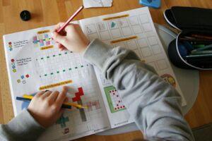 Årets eksamen i skriftlig matematik for folkeskolens afgangsklasser var nemmere end sidste års. Det oplyser Undervisningsministeriet.