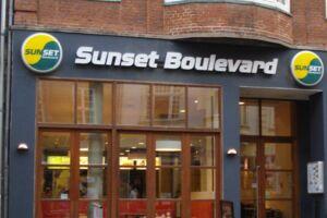 (Sunset Boulevard i Aalborg. Dette er ikke den pågældende restaurant, der har fået en sur smiley. Der er tale om den i Rødovre Centrum. (Foto: Sunset Boulevard)