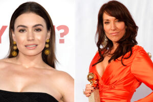 Sophie Simmons (tv.) og Katey Sagal (th.)