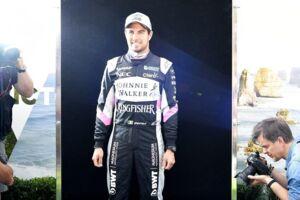 Sergio Perez er på noget af en stram diæt for tiden.