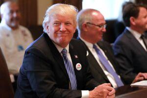 Den amerikanske præsident Donald Trump har tidligere inviteret skuespillerinden Emma Thompson på date.