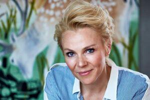 Lene Beier i 'Landmand søger kærlighed'.