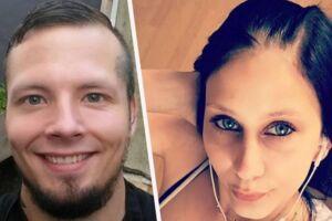 Marc Meyer Lindskov (tv) slog på brutal vis sin kæreste Sara Huus Lind Jensen ihjel i Svendborg.