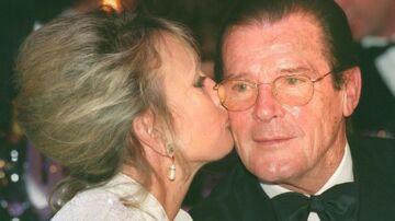 Arkivfoto. Roger Moore sammen med hustruen Kristina 'Kiki' Tholstrup.