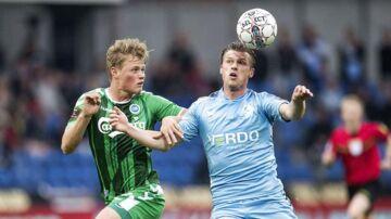 Randers FCs Marvin Pourie afgjorde kampen mod OB.