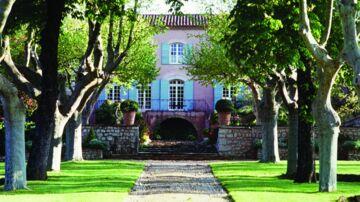 Bengt Sundstrøms franske vinslot, Chateau Vignelaure. Foto: Pressebillede fra Chateau Vignelaures hjemmeside.