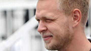 Kevin Magnussen er på plads i Baku, hvor det i weekenden går løs med sæsonens ottende grandprix.