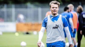 Emil Larsen fortsætter som scout i Lyngby.