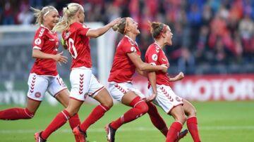 Katrine Veje bragte tidligt Danmark foran mod Norge