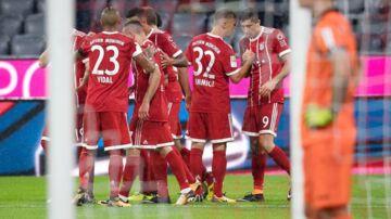 Bayern München kom godt fra start i den nye sæson.