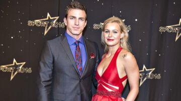 Pernille Blume og Rene Holten Poulsen er ikke længere et par.