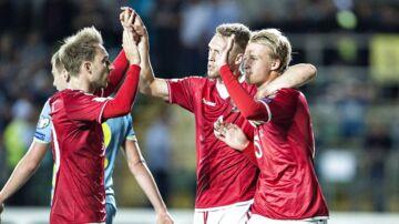 Kasper Dolberg er blandt de nominerede til årets Golden Boy