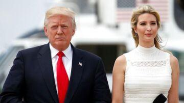 Donald Trump og datteren Ivanka Trump.