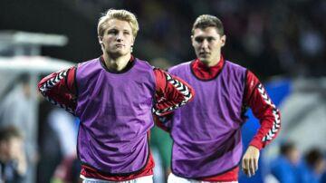 Kasper Dolberg og Andreas 'AC' Christensen er blandt verdens største talenter.