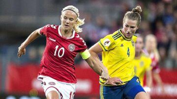 Danmark skulle have mødt Sverige på fredag. Den vigtige VM-kvalkamp er nu aflyst af DBU somfølge af Spillerforeningen.