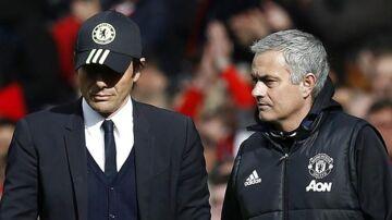 Antonio Conte og José Mourinho er ikke bedste venner.