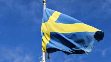 Svensk flag Ikea Malmø