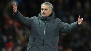 Manchester United-manager Jose Mourinho var indblandet i balladen.