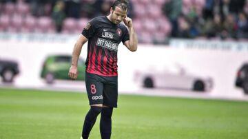 Rafael van der Vaart får ikke meget spilletid i FC Midtjylland for tiden.